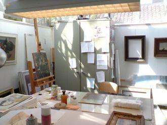 restauratie schilderijen kunst harlingen